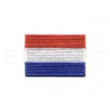vlag Nederland opstrijkbaar 5 x 3.5 cm