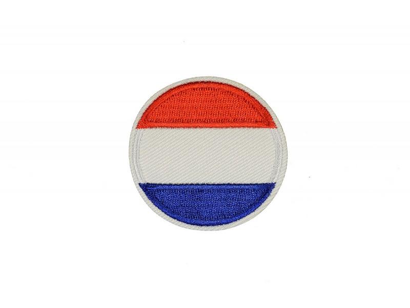 vlag Nederland rond 5 cm