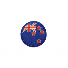 vlag Nieuw Zeeland rond 5 cm