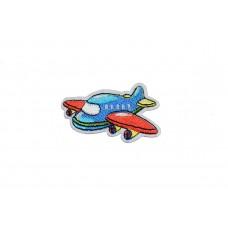 vliegtuig applicatie blauw