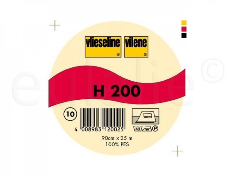 Vlieseline H200 rol 25 m middel