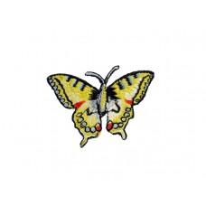 vlinder applicatie koninginnepage geel