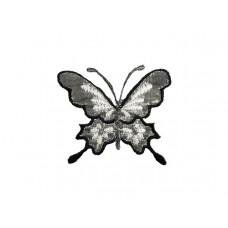 vlinder applicatie koninginnepage zilver