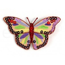 vlinder applicatie pailletten