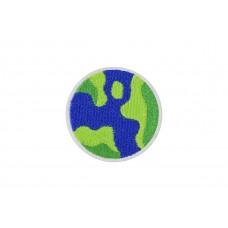 wereldbol patch 6cm