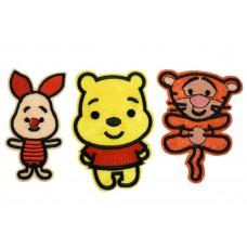 winnie de pooh patch set