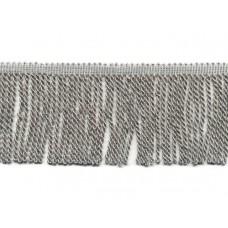zilver franje band 7 cm